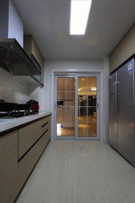 简洁现代风格灰色厨房赏析