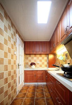 雅致时尚简约风格厨房装修效果图