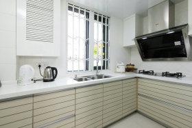 简约白色大气厨房装修案例