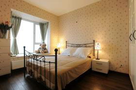 田园风格米色卧室效果图设计
