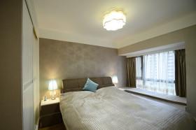舒适现代风格卧室飘窗美图欣赏