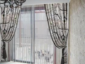 清新简欧风格窗帘设计赏析
