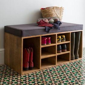 质朴休闲简约风格鞋柜设计图