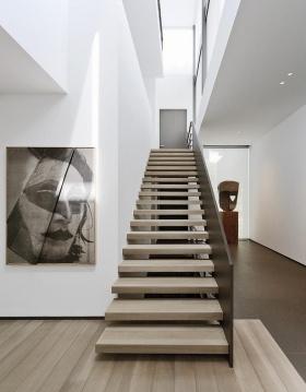 艺术感时尚雅致现代风格楼梯效果图欣赏