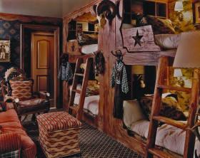 个性创意美式混搭风格儿童房装修案例