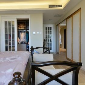 中式风格白色衣柜美图欣赏