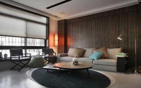 现代风格时尚米色客厅设计图片