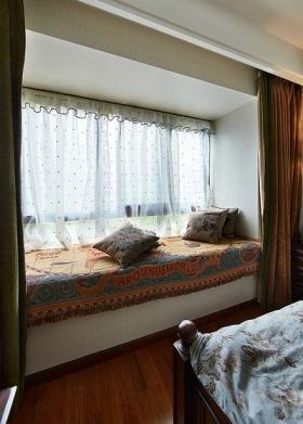 浪漫雅致混搭风格飘窗设计图片