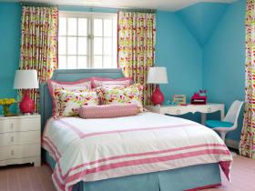 多彩混搭风格儿童房设计案例