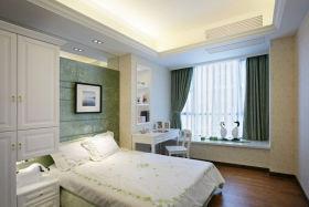 简洁现代风格卧室飘窗图片欣赏