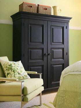 复古美式风格衣柜图片欣赏
