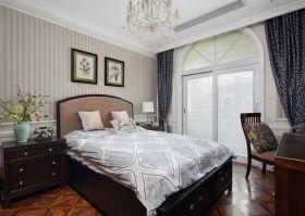 混搭风格白色雅致卧室设计图片