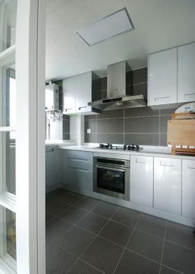 简洁宜家风格厨房装潢设计