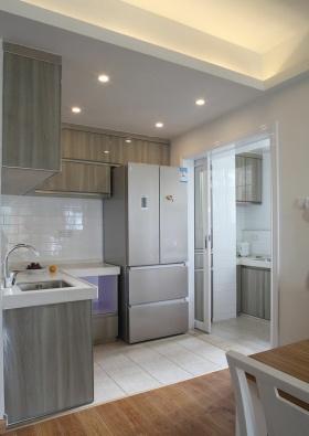 灰色简约风格厨房图片