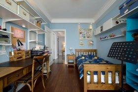 复古雅致时尚美式风格儿童房设计图