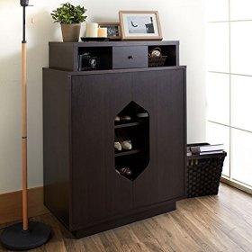 创意个性设计混搭风格鞋柜装修设计