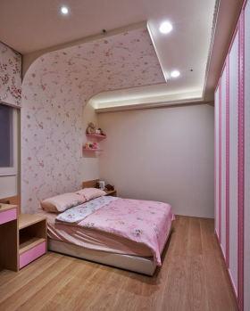 粉色混搭吊顶图片