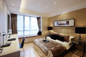 新古典黄色卧室装饰图