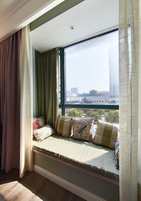 舒适休闲浪漫田园风格飘窗设计