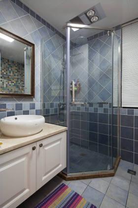 清爽简欧风格灰色卫生间效果图赏析