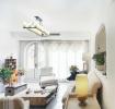 白色北欧风格客厅设计欣赏