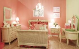 粉色少女简欧风格儿童房效果图赏析