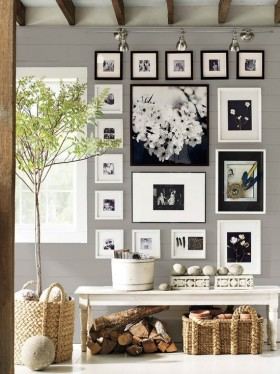 清新文艺混搭照片墙图片欣赏