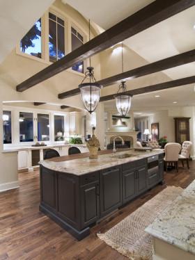 混搭风格厨房橱柜装饰案例