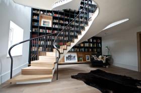 时尚个性混搭楼梯效果图赏析