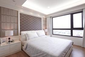 简欧风格白色雅致卧室设计装潢