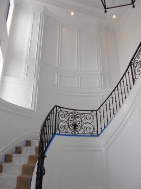 精致时尚简欧风格楼梯设计装潢