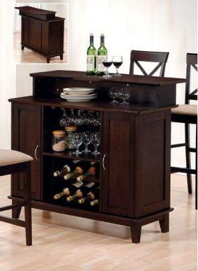 时尚大气美式风格酒柜装修设计