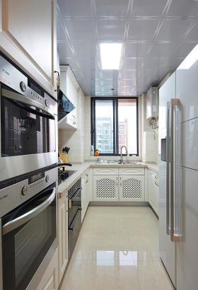 时尚雅致白色简欧风格厨房图片赏析