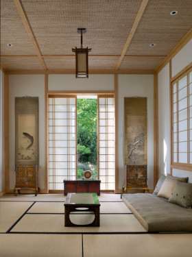 素雅日式风格榻榻米装修案例