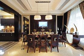 新古典黄色客厅吊顶设计图片