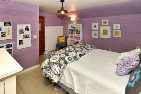 浪漫粉色混搭风格儿童房装修图