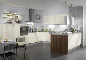 现代时尚精致风格厨房橱柜效果图设计