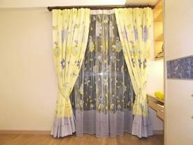 欧式复古浪漫风格窗帘装修设计
