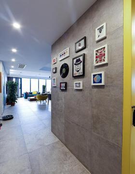 现代风格摩登时尚米色照片墙欣赏
