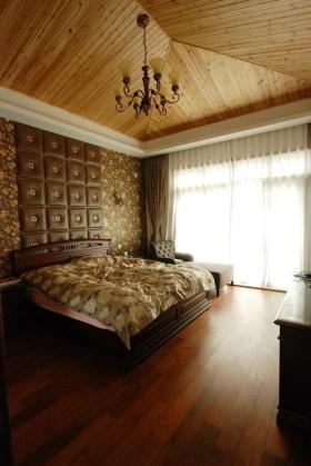 东南亚质朴雅致温馨卧室设计图