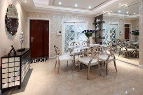 米色精致新古典风格餐厅装饰设计图片