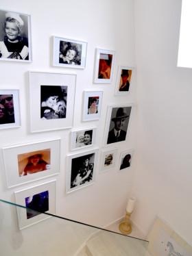 2016文艺白色简约风格照片墙设计欣赏