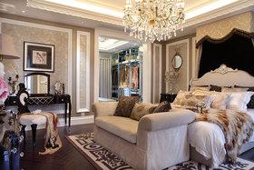 精致奢华新古典风格米色卧室装修图片