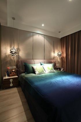 褐色东南亚风卧室美图欣赏
