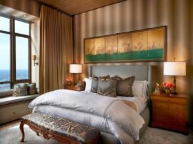 新古典黄色卧室设计赏析