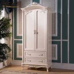 白色欧式风格衣柜装修