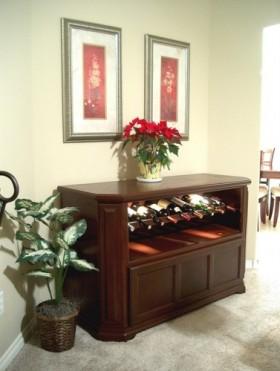 典雅中式风格酒柜装潢案例