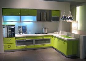 混搭风格厨房橱柜图片欣赏