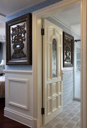 米色复古原木混搭风格装饰墙面美图欣赏