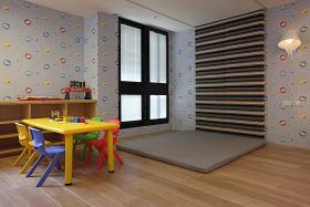 混搭风格灰色儿童房图片欣赏
